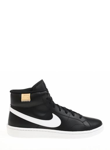 Nike Erkek Siyah Basketbol Ayakkabısı CQ9179 - 001 Court Royale 2 Mid Siyah